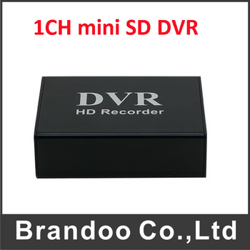 1 Kanal Mini CCTV DVR Destek 64 GB SD Kart